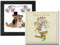 Keepsake Wedding Tiles & Boxes