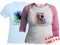 Astrology, Horoscope, Zodiac Sign T-shirts and Gif