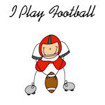 STICK FIGURE FOOTBALL T-SHIRTS AND GIFTS