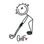 STICK FIGURE GOLF T-SHIRTS AND GIFTS