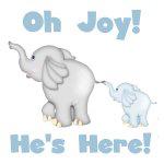 Oh Joy He's Here!
