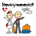 Stick Figures Honeymooner T-shirts and Gifts