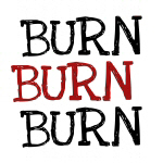 Burn Burn Burn Dieting T-shirts and Gifts