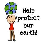 Boy Protect Our Earth  Tshirts and Gifts
