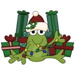 Froggy Christmas T-shirts and Gifts