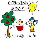 Cousins Rock Three T-shirts and Gifts