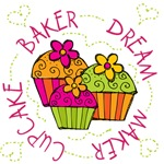 Cupcake Baker Dream Maker T-shirts and Gifts