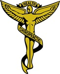 Chiropractic Symbol Gold