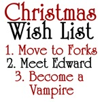 Twilight Christmas List