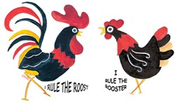 ROOSTER RULES-HEN RULES
