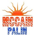 McCain Palin Trendy Sunset