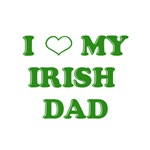 I Love My Irish Dad T-Shirts