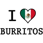 I Love Burritos T-Shirts