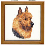Australian Terrier Tile Boxes Coasters and Pillows