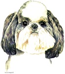 Shih Tzu Puppy Cut Shirts Clothing Apparel
