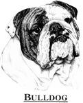 Bulldog Black and White Shirt Designs