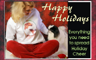 Tibetan Spaniel Holiday Items & Gifts