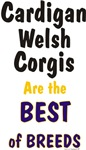Cardigan Welsh Corgis Best of Breeds Items