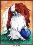 Japanese Chin My Ball Unique Gifts Products