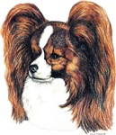 Red Sable Papillon Pap Products Unique Gifts