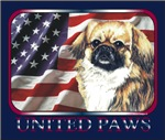 Tibetan Spaniel United Paws US Flag Gifts