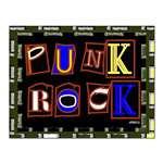 Punk Rock Design Framed Prints and Posters