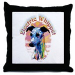 Electric Whippet Tile Boxes, Coasters, Cozy Pillow