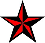 Red Nautical Star Unique Gifts and Merchandise