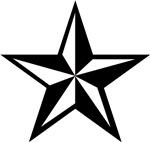 Punk Rock Nauticle Star Unique gifts merchandise