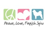 Peace, Love, Finnish Spitz