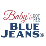 Baby's Got Her Blue Jeans On
