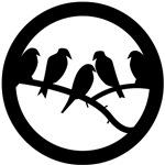 Bird Badge Icon