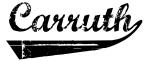 Carruth (vintage)