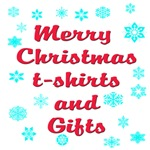 Merry Christmas T-shirts and gifts