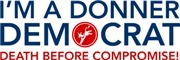 Donner Party Democrat T-shirts