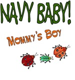Navy Baby - Mommy's Boy