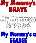 My mommys brave