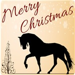 Merry Christmas Gaited Horse