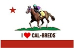 I Love Cal-Breds with Logo