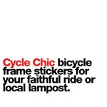 Bicycle Frame Stickers from Cycle Chic