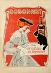 Dubonnet, Cat, Vintage Poster