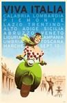 Viva Italia, Travel, Vintage Poster