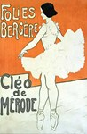 Ballerina, Vintage Poster