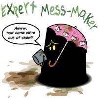 Monster in the Darkness: Expert Mess-Maker