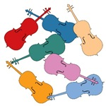 Colorful Cellos
