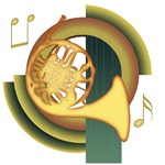 French Horn Deco