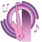 Saxophone Deco3