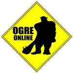 Ogre Online MMORPG Gamer T-shirts, Clothing & Gift