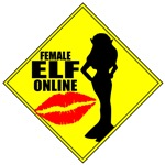 Female Elf Online MMORPG T-shirts & Gifts