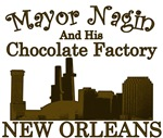 Mayor Nagin and the Chocolate Factory T-shirts & G